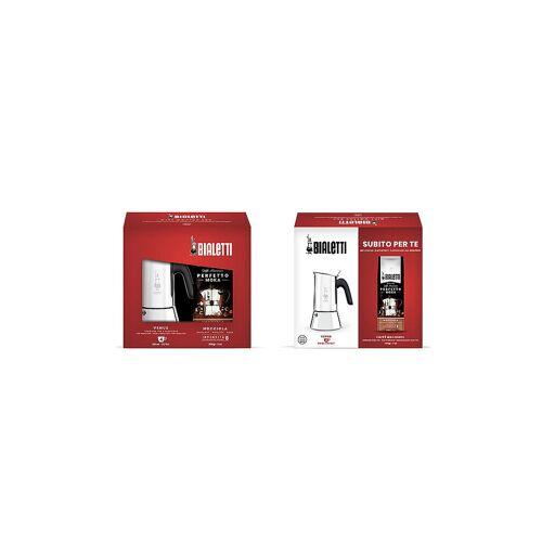 Bialetti Kaffeekocher Venus 4 Tassen inkl. Nocciola 200g silber   JE3533