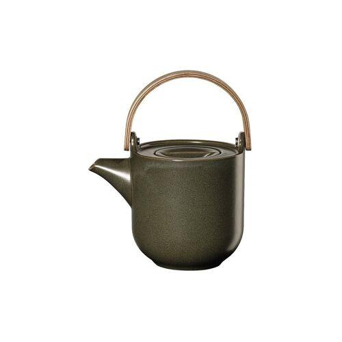 ASA Teekanne mit Holzgriff Coppa 0,6l (Nori) grün