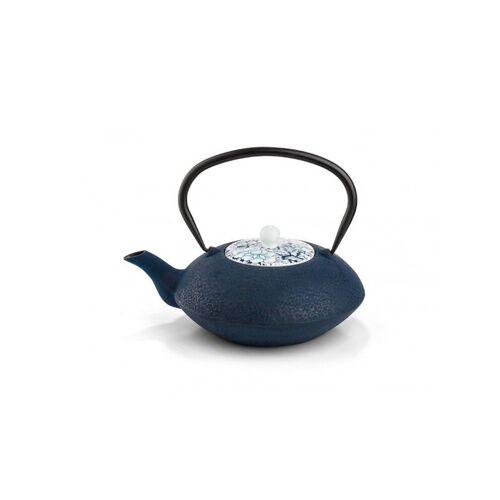 BREDEMEIJER Guss-Teekanne Yantai 1,2l blau