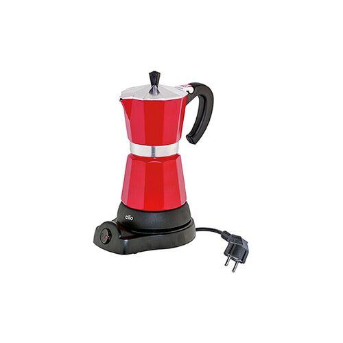 CILIO Espressokocher Classico elektrisch rot (6 Tassen) rot