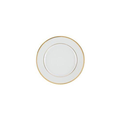 COTE TABLE Platzteller Ginger 30cm (Weiss/Goldrand) weiß