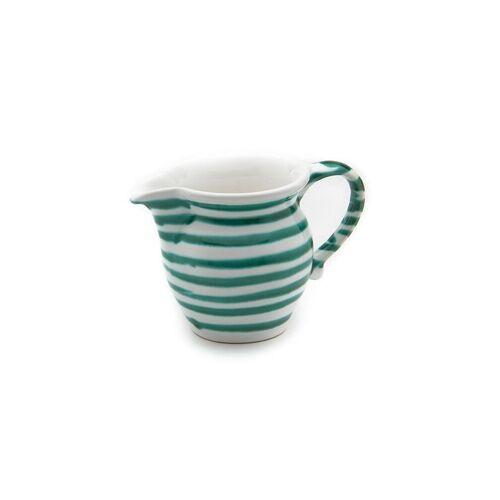 GMUNDNER KERAMIK Milch-Giesser glatt Grün Geflammt 0,5l grün