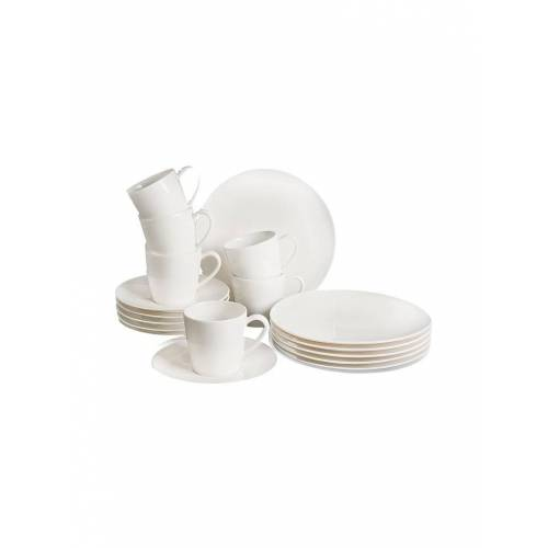 LIKE Voice Basic Frühstücks-Set 18-tlg. (Weiss) weiß
