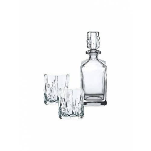 NACHTMANN Nachtmann Shu Fa Whisky Set - 1 Karaffe 0,75 l und 2 Tumbler