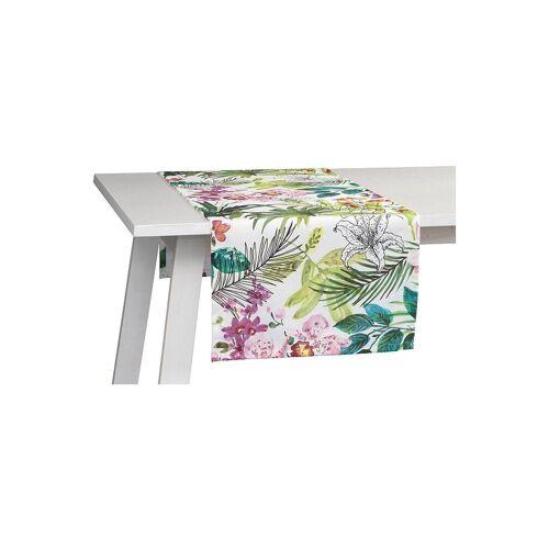 Pichler Tischläufer Malibu 50x150cm (Weiss) bunt