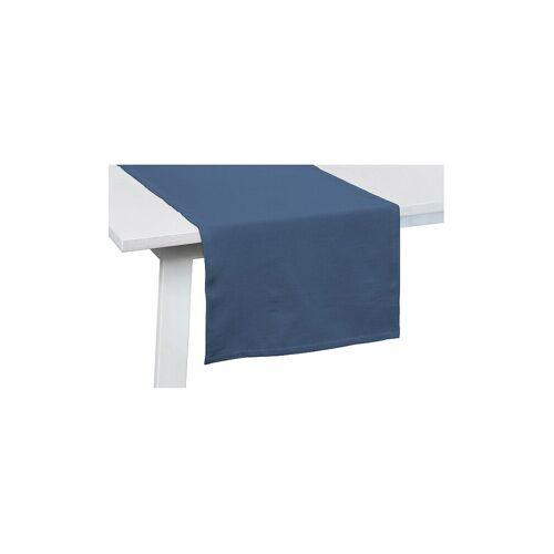 Pichler Tischläufer One 50x150cm  (Rauchblau) blau