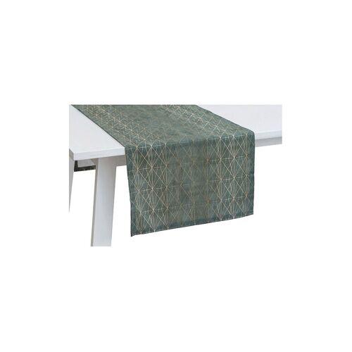 Pichler Tischläufer Jewel 50x150cm (Salbei) grün