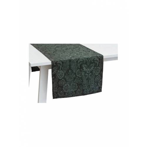 Pichler Tischläufer Palais 50x150cm  (Flaschengrün) grün