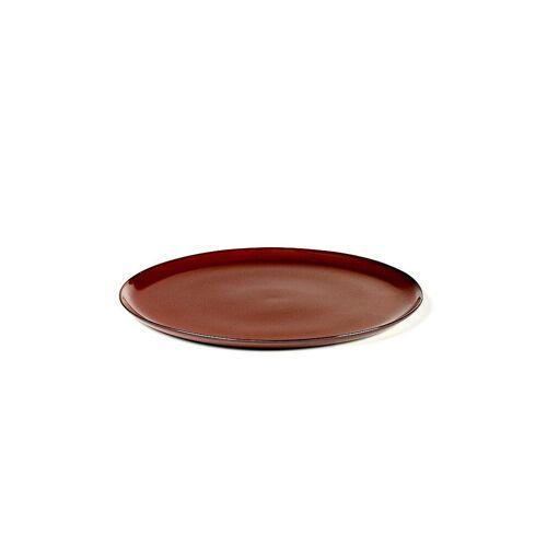 SERAX Frühstücksteller Terres de Rêves 22cm (Rust) rot