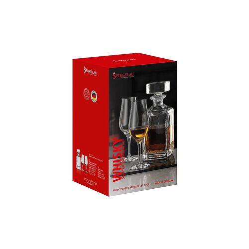 SPIEGELAU Whisky Set - 1 Karaffe 0,75l und 2 Whiskey Snifter