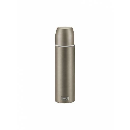 LURCH Isolierflasche - Thermosflasche mit Becher EDS 0,45l Earth Grey grau   240913