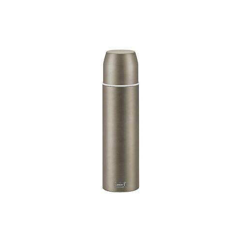 LURCH Isolierflasche - Thermosflasche mit Becher EDS 0,75l  Earth Grey grau   240918