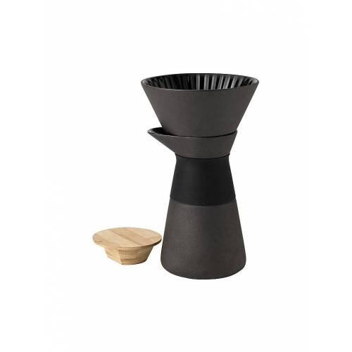 "STELTON The ""Slow brew"" Kaffeemaschine 0,6l schwarz   X-634"