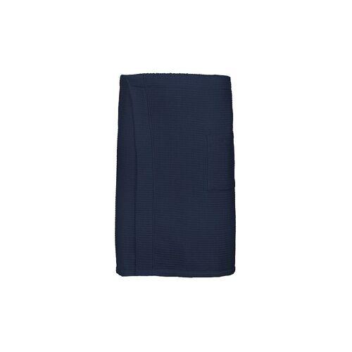 VOSSEN Herren-Saunakilt Will (Marine) blau