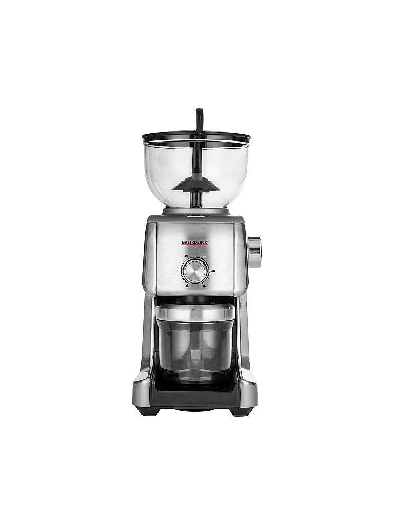 GASTROBACK Design Kaffeemühle Advanced Plus 42642 silber   42642