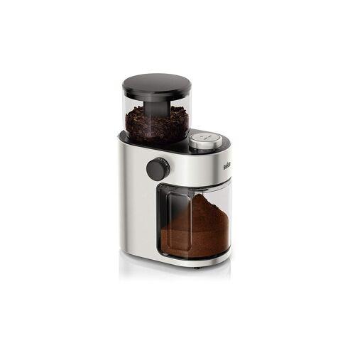 Braun Kaffeemühle Fresh (Edelstahl) KG7070 silber