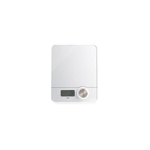 KELOMAT Küchenwaage Kinetik (batteriefrei) weiß