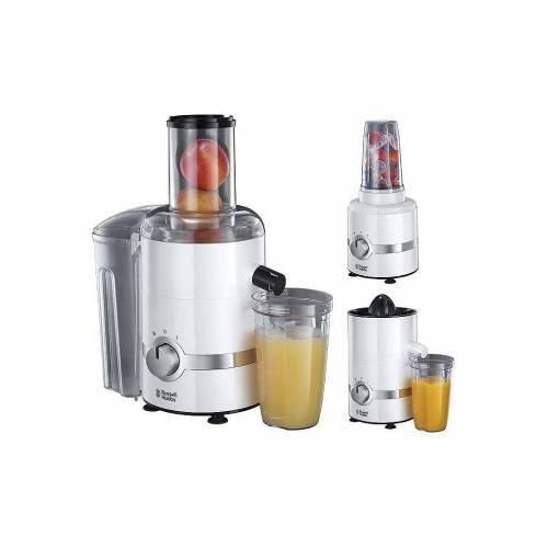 RUSSELL HOBBS 3 in 1 Ultimativer Entsafter weiß