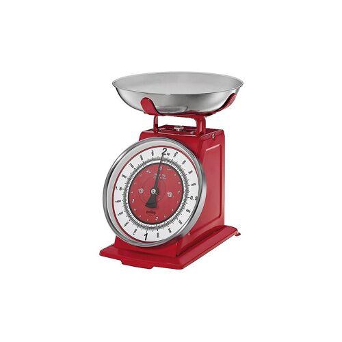 "KUECHENPROFI Analoge Küchenwaage ""Nostalgie"" (Rot) rot   09 0330 14 00"