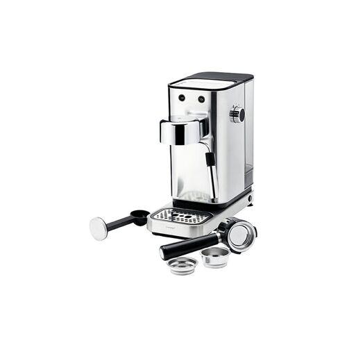 WMF Lumero Siebträger Espressomaschine 1400W silber   04 1236 0011
