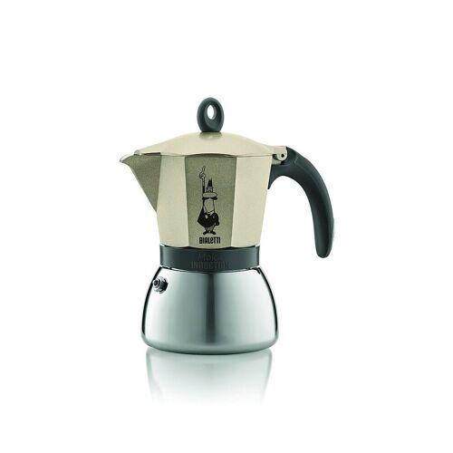 Bialetti Moka Induktion Espressokocher  - Füllmenge 3 Tassen gold