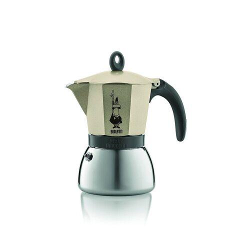 Bialetti Moka Induktion Espressokocher  - Füllmenge  6 Tassen gold