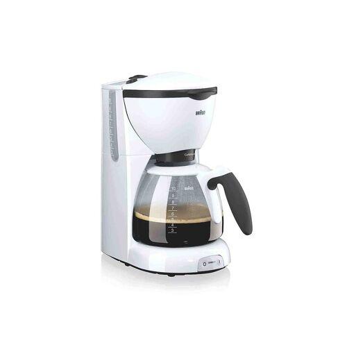 Braun Filterkaffeemaschine Cafe House weiß