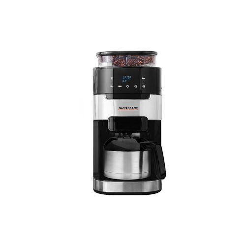 GASTROBACK Kaffeemaschine Grind & Brew Pro 8 Tassen 42711S silber