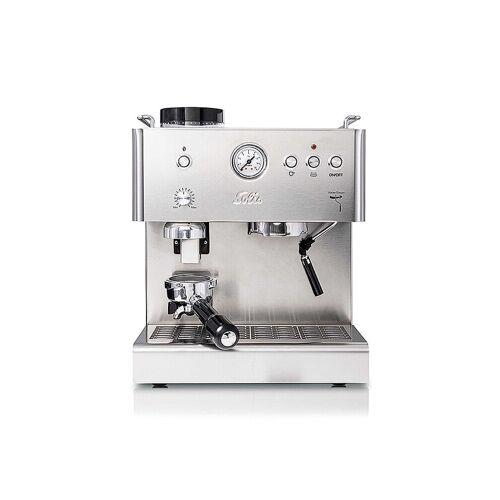 Solis Espressoautomat Personal Barista 1150 (Edelstahl) silber