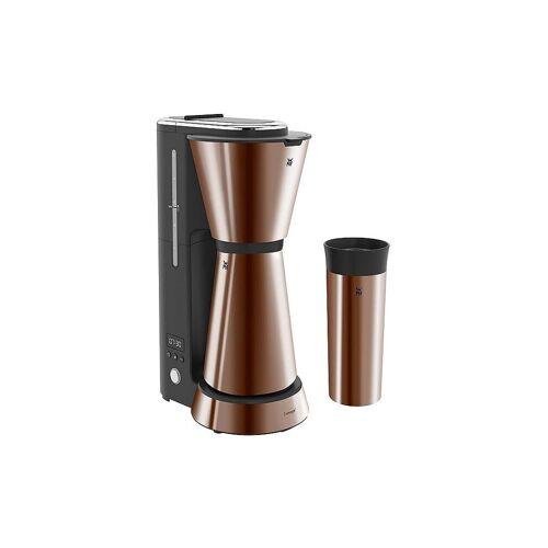 WMF Küchenminis Aroma Kaffeemaschine mit Thermoskanne kupfer
