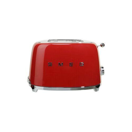 SMEG Toaster (2 Scheiben) TSF01RDEU (Rot) rot