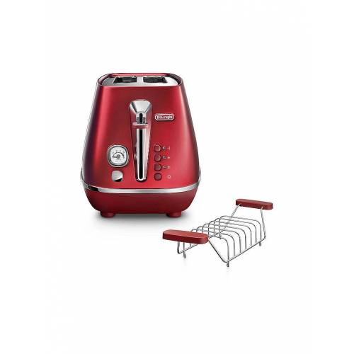 DeLonghi Toaster Distina Flair Glamour Red CTI 2103.R rot   CTI2103.R