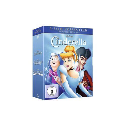 DVD Walt Disney - Cinderella 1,2 und 3 / 3 DVD