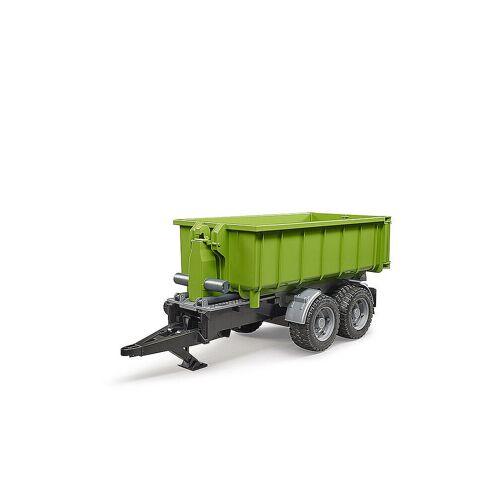 BRUDER Hakenlift-Anhänger für Traktoren 02035