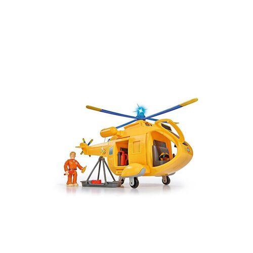 FEUERWEHRMANN SAM Feuerwehrmann Sam - Hubschrauber Wallaby II mit Figur