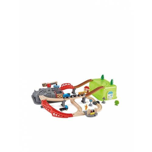 HAPE Eisenbahn Baukasten Set 50tlg