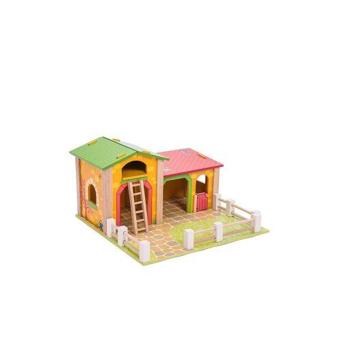 LE TOY VAN Baby-Holzspielzeug - Die Scheune