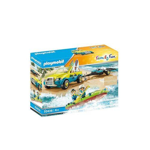 Playmobil Family Fun - Strandauto mit Kanuanhänger 70436