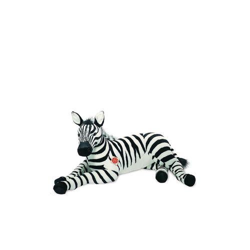 HERMANN TEDDY Plüschtier - Zebra liegend 85cm
