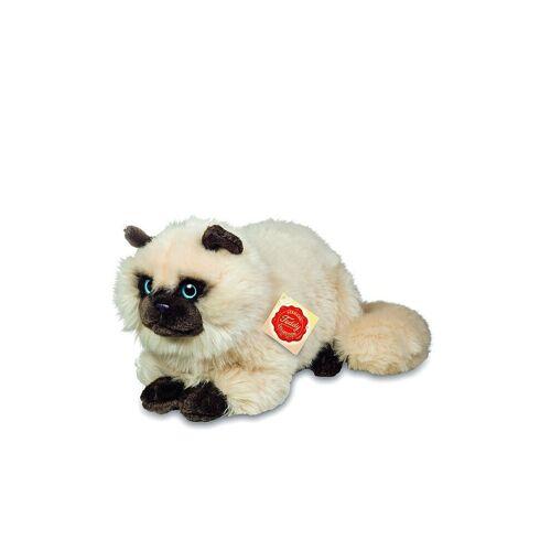 HERMANN TEDDY Plüschtier - Siamkatze liegend 36cm