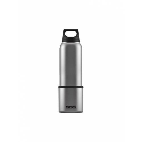 SIGG Thermoflasche SIGG Hot & Cold Brushed 0,75L grau