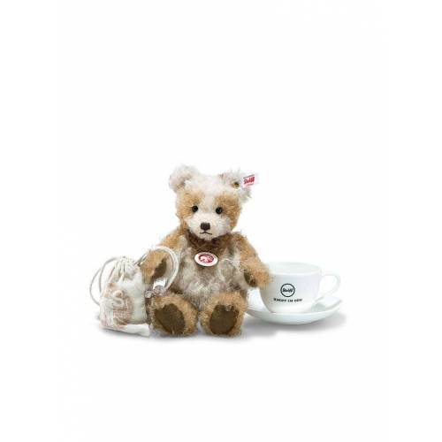 STEIFF Teddybär - Benotime Teddybär (Mohair) 25cm creme/braun