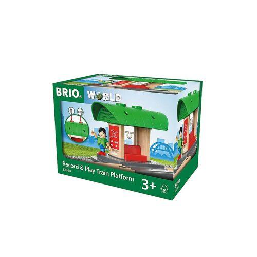 Brio Bahnhof mit Aufnahmefunktion 33840