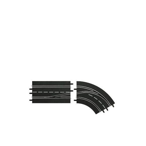 CARRERA Digital 132 - Spurenwechselkurve rechts innen