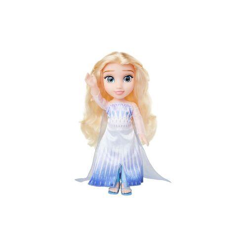 JAKKS Eiskönigin 2 -  Puppe Elsa im Schneekristallkleid 35cm