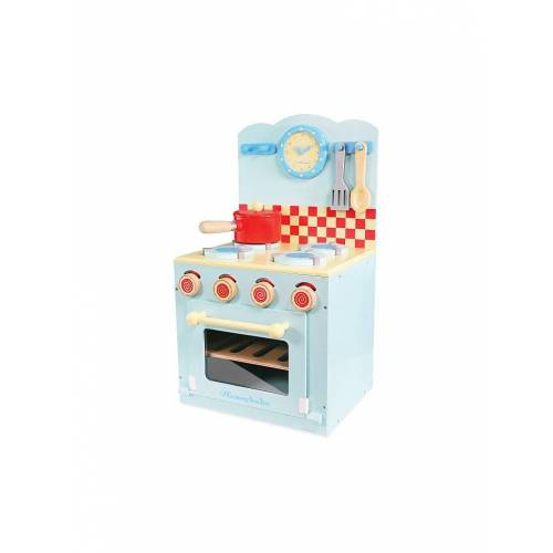 LE TOY VAN Blauer Ofen & Kochfeld Set