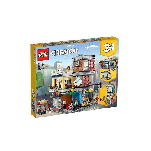 Lego Creator - Stadthaus mit Zoohandlung und Cafe 31097