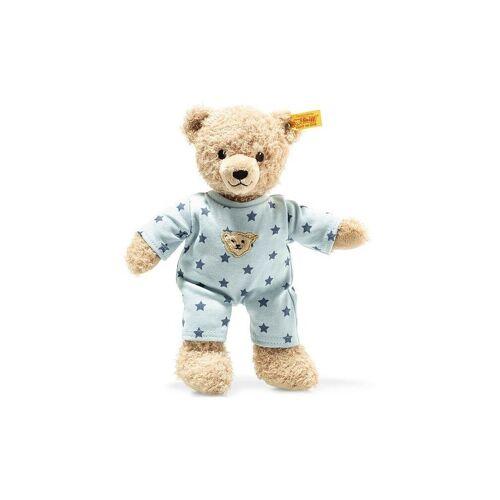 STEIFF Teddybär Junge Baby mit Schlafanzug 25cm