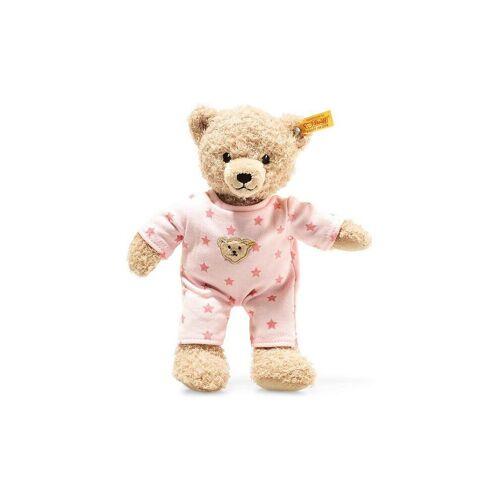 STEIFF Teddybär Mädchen Baby mit Schlafanzug 25cm
