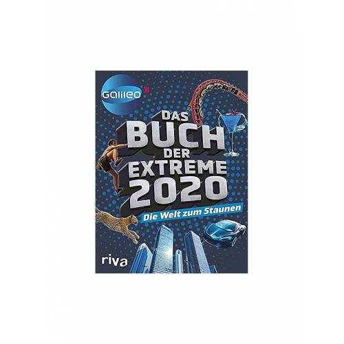 RIVA MVG VERLAG Das Buch der Extreme 2020 - Die Welt zum Staunen